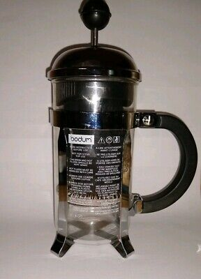 Bodum Chambord 12 oz, 3 cups French Press Coffee Maker - Clear/Chrome
