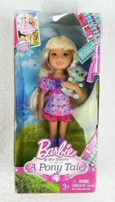 Free Shipping. Brand New Mattel Barbie Club Chelsea doll with Pony