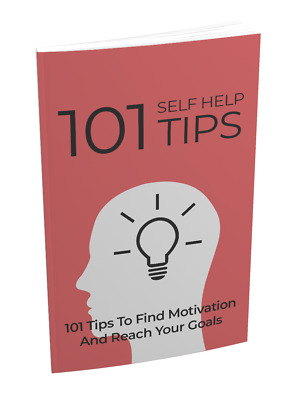 101 Self Help Tips eBook With Master Resell Rights Bonus + PDF