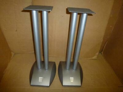 Alphason Designs Metal Speaker Stands-60 cm-Spiked-High Quality.
