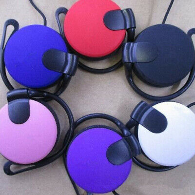 Super Bass 3.5mm Ear Hook Over Ears Headsets Headphone For Phone MP3 Tablet PC