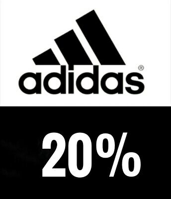 Adidas Discount 20% online Promo Code