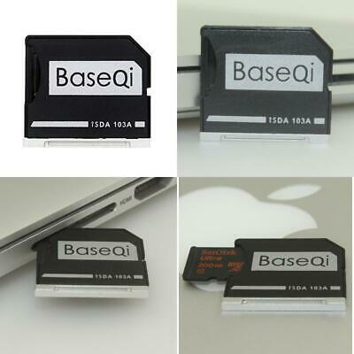 "Baseqi Aluminum Microsd Adapter For Macbook Air 13"" And Macbook Pro 13""/15"" (Non"