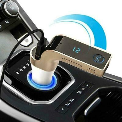 Bluetooth Car Kit Handsfree FM Transmitter Radio MP3 USB New Charger Player W9L1