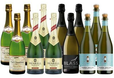 Sparkling Wines of the World (12 x 750mL)