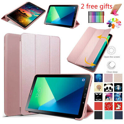 For Samsung Galaxy Tab A 10.1 SM-T580 T585 T587 Smart PU Leather Slim Case Cover