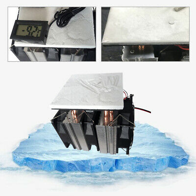 12V 240W Thermoelectric Peltier Refrigeration Plate Cooling Semiconductor Cooler