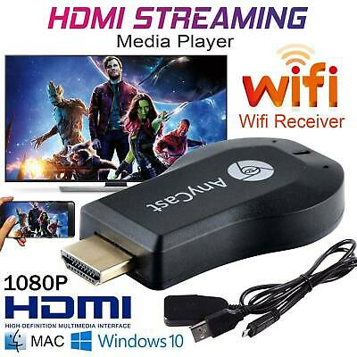 AnyCast M4/9 Plus WiFi Display Dongle Receiver Airplay Miracast HDMI HDTV DLNA
