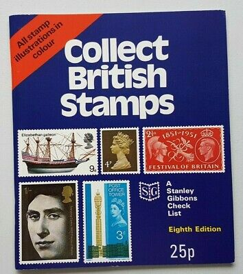Stanley Gibbons Collect British Stamps. 1971 edition. Used, good condition.