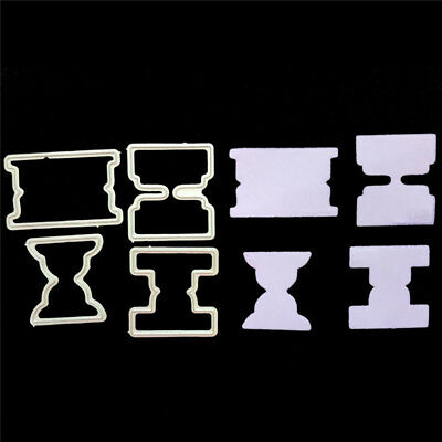 4pcs Funnels Metal Cutting Dies Stencil for DIY Scrapbooking Album Paper CardsUQ
