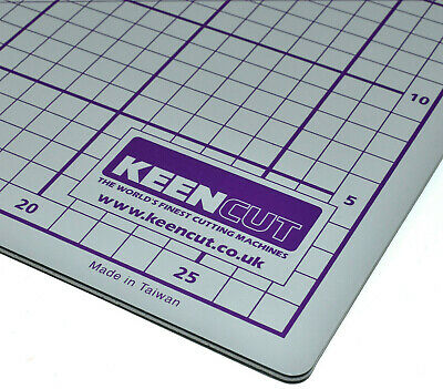 KEENCUT DOUBLE SIDED CUTTING MAT PAPER A4 230mm x 300mm PICTURE FRAMING TRIMMING