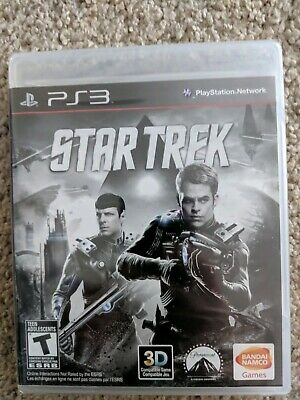 Star Trek  for  Sony PlayStation 3  PS3  *Factory Sealed! *Free Fast Shipping!