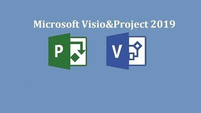 INSTANT GENUINE MS Microsoft Project 2019 / Visio 2019 PRO 2019 Key FOR 1 PC