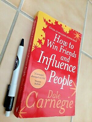 HOW TO WIN FRIENDS & INFLUENCE PEOPLE - Dale Carnegie -   a TREASURE !