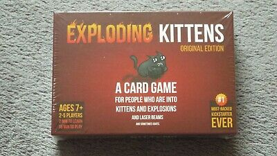 Exploding Kittens Card Game, brand new and sealed