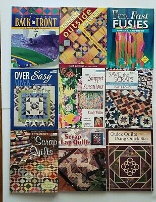 HUGE lot of 25 Quilting Books  Quilt Lot #3