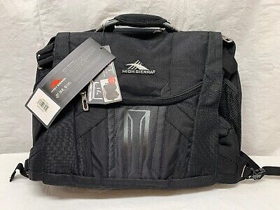 "High Sierra XBT TSA Messenger / Laptop  Bag (For 17"" Laptop / Tablet)"