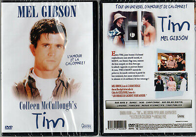 DVD - TIM - Mel Gibson,Piper Laurie,Michael Pate,Colleen McCullough - NEUF