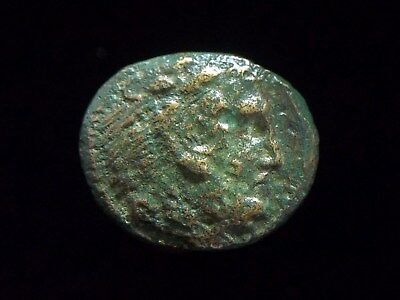 Greek AE19 of Alexander III The Great, Lifetime issue, 336-323 BC,  AC0075