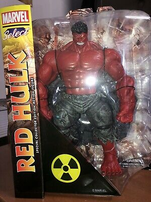 """10/"""" Marvel Universe Avengers action Figure Incredible RED HULK Collection"""