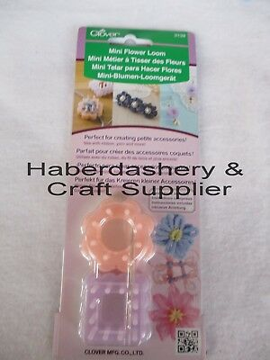 Clover Flower Maker Diy Mini Loom *Petite Accessories 3139