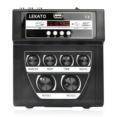Lekato WS-10 2.4G Wireless Guitar Audio Systems Wireless Transmitter & Receiver