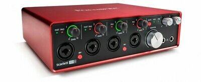 Focusrite Scarlett 18i8 2nd Gen USB Audio Interface with Pro Tools First