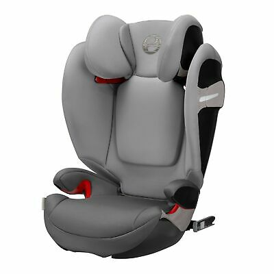 Cybex Solution S-Fix Group 2/3 Child Car Seat, Suitable from 4-12Y/36kg