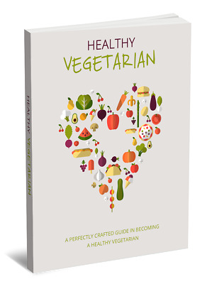 Healthy Vegetarian eBook With Master Resell Rights Bonus + PDF