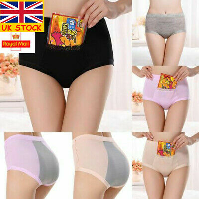 Womens Menstrual Period Physiological Pants Leakproof Briefs Pocket Underwears