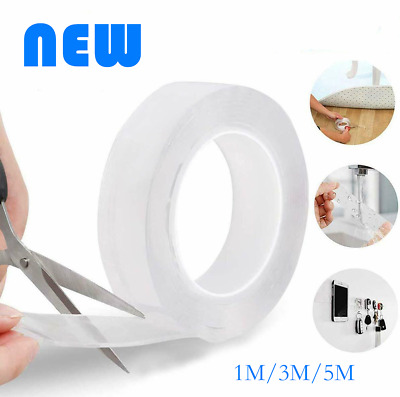nano magic Tape Traceless Removable Clear Multifunctional Double-Sided Adhesive