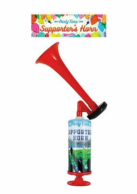 PUMP ACTION AIR HORN FOG HORN HAND HELD FOOTBALL FESTIVAL LOUD Never Runs Out UK
