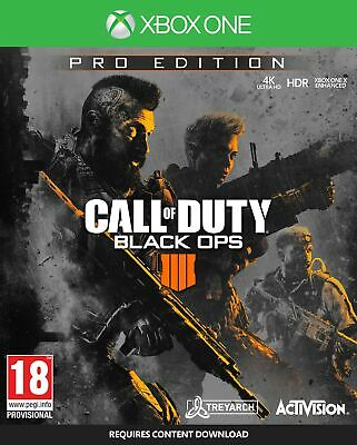 Call of Duty: Black Ops 4 Pro Edition (Xbox One) New Sealed