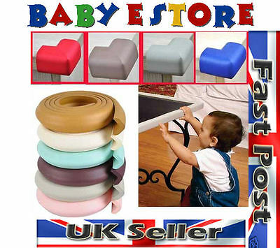 4M Baby Furniture Edge Guard Protector With 8 Corners High Quality Thick Cushion