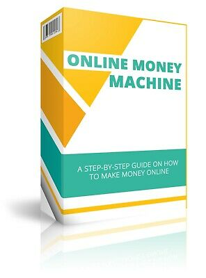 Online Money Machine eBook With Master Resell Rights Bonus + PDF