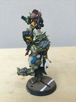 BLOOD BOWL Troll pro Painted Games Workshop Warhammer orc / goblin star player
