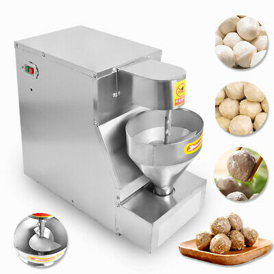 Commercial Meatball Maker Machine Pork Fish Beef Meatball Making Machine 110v