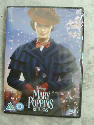 Mary Poppins Returns [DVD] New/Sealed
