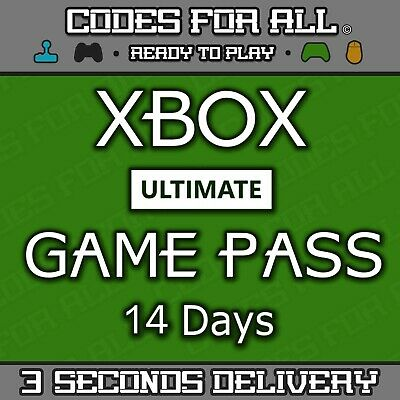 Xbox One Only Xbox Live 2 Weeks (14 Days) Gold Trial Code Instant Dispatch 24/7