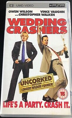 Wedding Crashers UMD for Sony PSP in Good Condition