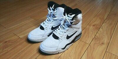 Nike Air Command Force Men Sneakers WhiteWolf GreyVoltBlack 684715 100 (Size: 9)