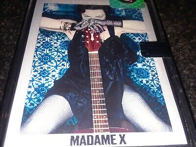 Madonna-Madame X-Extremely Rare Brand New Release-Very Hard To Find Cassette
