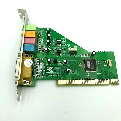 4.1/5.1 Channel PCI Sound Card For Desktop Computer Home Theater Surround W/Mic