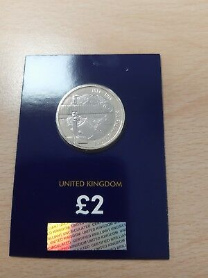 2017 WW1 Aviation £2  Two Pound Coin Brand New Uncirculated In Sealerd Card RARE