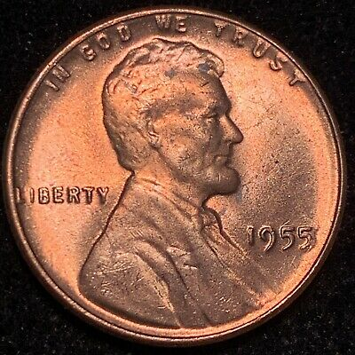 """1955 Double Die Obverse Ddo 2 Lincoln Cent """"Wicked High Grade Red Gem"""" Superb!!!"""