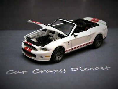 2011 Ford Shelby GT-500 Mustang Modern Muscle 1/64 collectible / diorama model