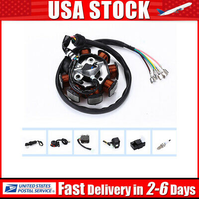 electrics full wiring harness wire loom for atv quad bike motorcycle stator  cdi