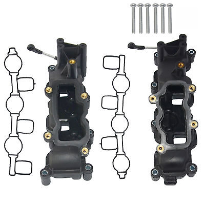 Left and Right Pair Intake Manifold FOR AUDI A4 A5 A6 A8 Q5 Q7 VW 2.7 3.0 TDI