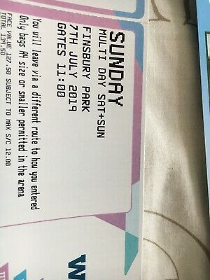 REDUCED PRICE - Wireless Festival 2019 Ticket SUNDAY