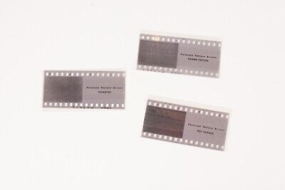 Paterson 35mm Texture Screens.   Set of 3 in good condition.